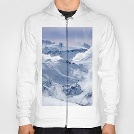 Snowy Mountains and Glaciers Hoody