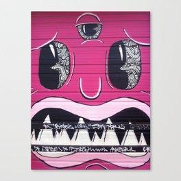 Blurgh Canvas Print