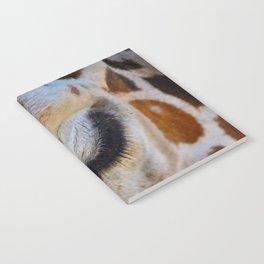 Eye of a giraffe Notebook