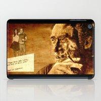 bukowski iPad Cases featuring Charles Bukowski - love version by ARTito