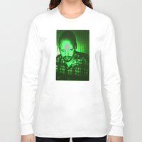 chad wys Long Sleeve T-shirts featuring Fuckushima Chad by Chad M. White