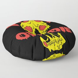 Pizza or Die Floor Pillow