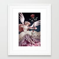 madoka magica Framed Art Prints featuring Puella Magi Madoka Magica by Ravenno