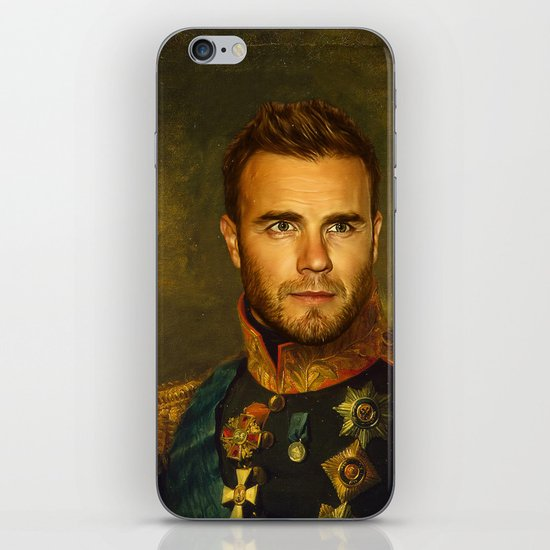 Gary Barlow - replaceface iPhone & iPod Skin