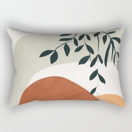 Soft Shapes I Rectangular Pillow
