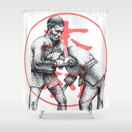 Kimura  Shower Curtain