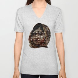 One Book, One Pen, One Child, and One Teacher Can Change The World !!! Unisex V-Neck