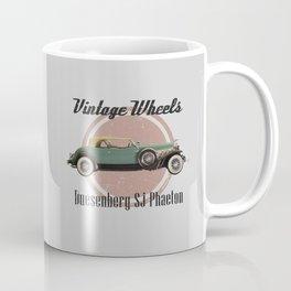 Vintage Wheels: Duesenberg SJ Phaeton Coffee Mug