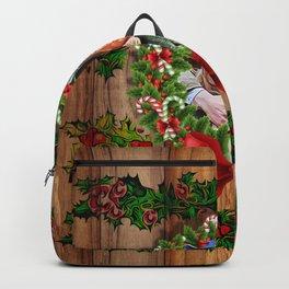 Trump Putin Christmas Backpack