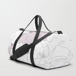 Tender Roses Duffle Bag