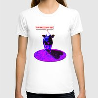 cows T-shirts featuring Psychedelic Cows by Peter Gross