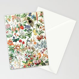 Adolphe Millot - Fleurs D - French vintage poster Stationery Cards