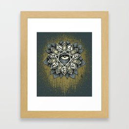 Seven Rays of Creation Classic Framed Art Print