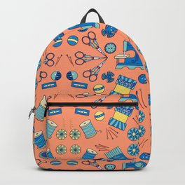 Kaleidoscope of Sewing Notions Backpack
