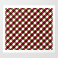 Holiday Pattern Art Print