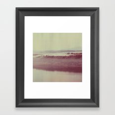 Oregon Polaroid Framed Art Print