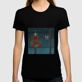There's a Feeling of Christmas T-shirt