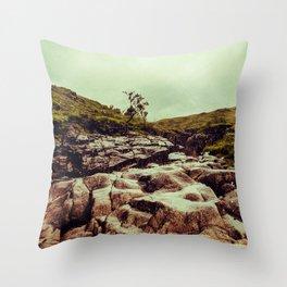 SCOTLAND / Glen Etive, Highlands / 02 Throw Pillow