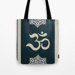 Mosaic Om Tote Bag