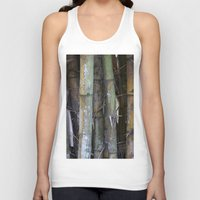 bamboo Tank Tops featuring bamboo by rchaem