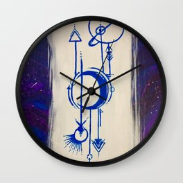 Cosmic Signs Wall Clock