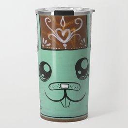 Tel Aviv Street Art / Green Rabbit Travel Mug