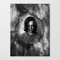 pot hole Canvas Print
