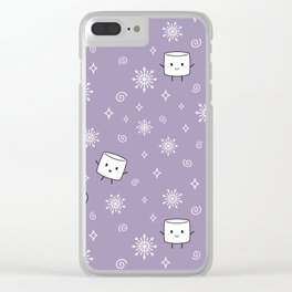 Winter Treat Clear iPhone Case
