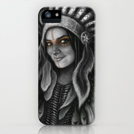 Tribe Girl iPhone Case
