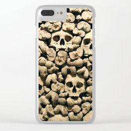 Wall of Remains Clear iPhone Case