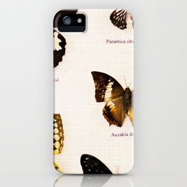 Forever Beautiful Butterfly iPhone Case