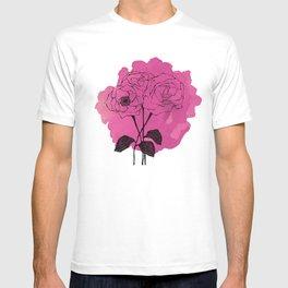 spray roses T-shirt