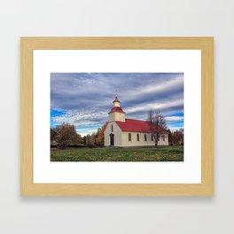 The Icelandic Church Framed Art Print