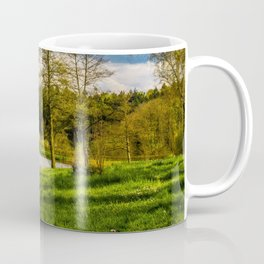 Rowboat on Lake Gengenbach Germany Coffee Mug