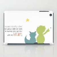 le petit prince iPad Cases featuring LE PETIT PRINCE -the little prince- by Chara Anagnostopoulou