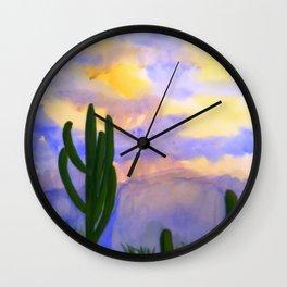 Monsoon Sky Wall Clock
