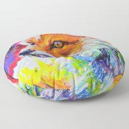 Fox Colors Floor Pillow
