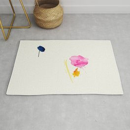 Minimum 2 - minimal artwork by Jen Sievers Rug