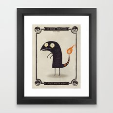 #004 Charmander Framed Art Print