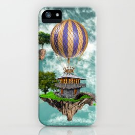 Balloon House iPhone Case