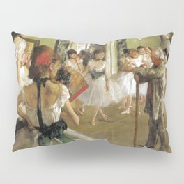 Edgar Degas The Dance Class Pillow Sham