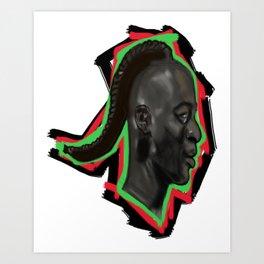what tribe you claim... Art Print