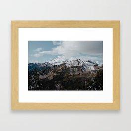 Mount Baker Framed Art Print