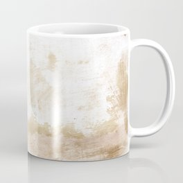 Rustic Wall with Flowers Coffee Mug