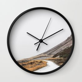 Roads Were Made For Journeys I Wall Clock