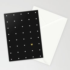 One Golden Cat  Stationery Cards