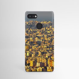 Beirut sunset Android Case