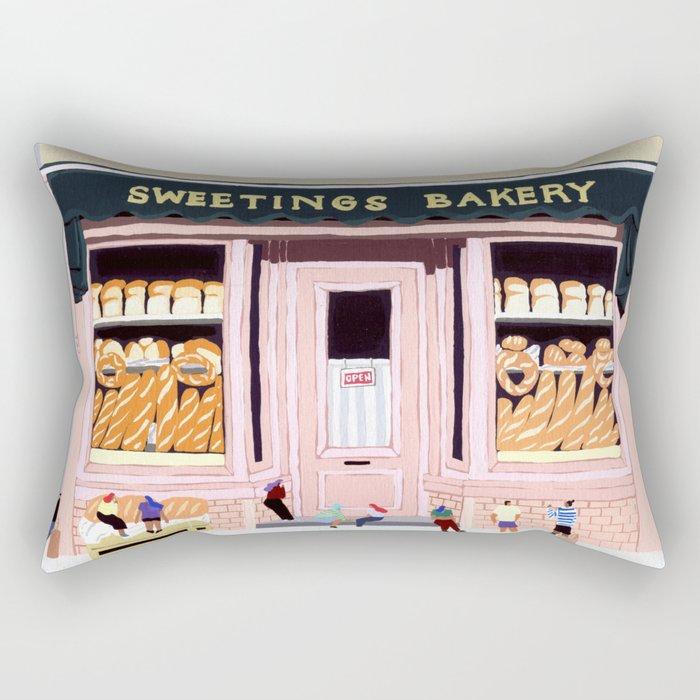 Sweetings Bakery Rectangular Pillow