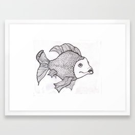 Pez I Framed Art Print