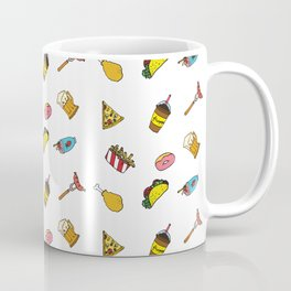 Calorie Counting Junk Food Coffee Mug